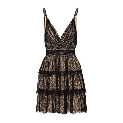アリス・アンド・オリビア ALICE + OLIVIA ミニワンピース&ドレス ブラック 6 ナイロン 100% ミニワンピース&ドレス