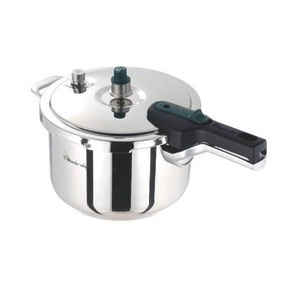 日本製 時短で美味しく調理 プロも納得 IH対応  片手 圧力鍋 3L 3層鋼 で 蓄熱性 抜群  業務用 に最適
