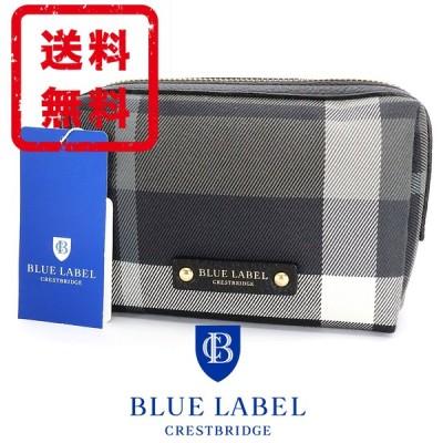 ブルーレーベル クレストブリッジ BLUE LABEL ポーチ バッグ チェック柄 正規品 新品 送料無料 CB223