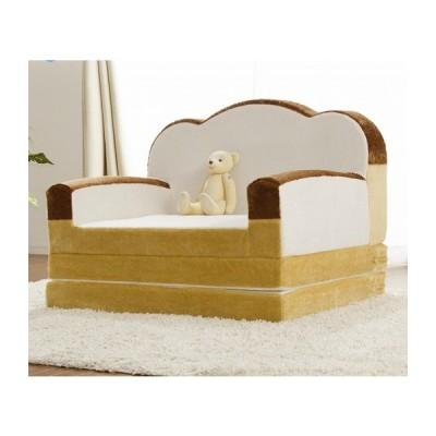 日本製 ソファベッド 国産 ソファ 二人掛け 一人掛け 2人掛け 1人掛け 食パン かわいい おしゃれ キッズ 代引不可