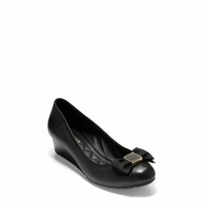 コールハーン COLE HAAN レディース パンプス シューズ・靴 Tali Soft Bow Pump Black Leather