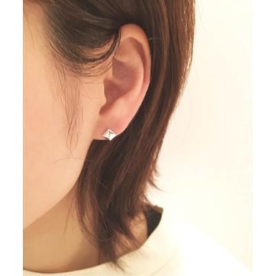 Newport / Tiny earrings /silver 925 WOMEN アクセサリー > ピアス(両耳用)