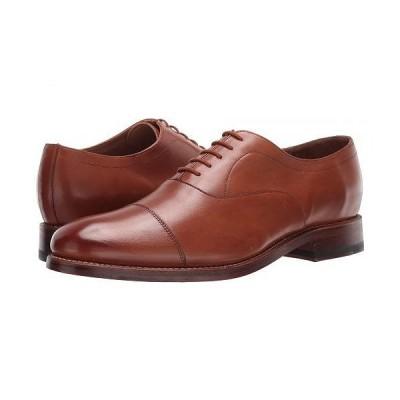 Bostonian ボストニアン メンズ 男性用 シューズ 靴 オックスフォード 紳士靴 通勤靴 Rhodes Cap - Tan Leather