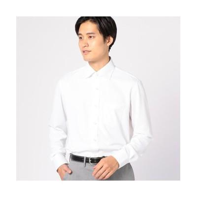 【メンズビギ】 サラマックスシャツ メンズ ホワイト L Men's Bigi