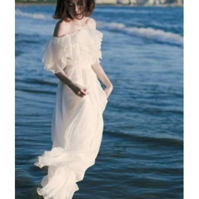二次会 ウェディングドレス ウェディングドレス 白 大きいサイズ オフショルダー ウェデ 白 花嫁 カラードレス 激安 花嫁 大人気 二次会