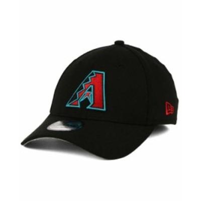 ニューエラ メンズ 帽子 アクセサリー Arizona Diamondbacks Team Classic 39THIRTY Cap Black