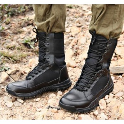 マウンテンブーツ タクティカル 戦闘ブーツ  サバゲー  登山  釣り  作業用  ジャングル ファッションブーツ 滑り止め?通気  dsx013