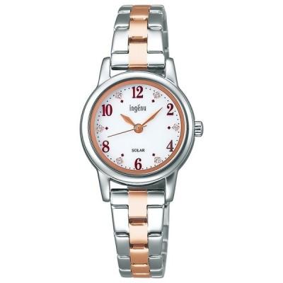 セイコー アルバ腕時計 アンジェーヌ ソーラー レディースAHJD406