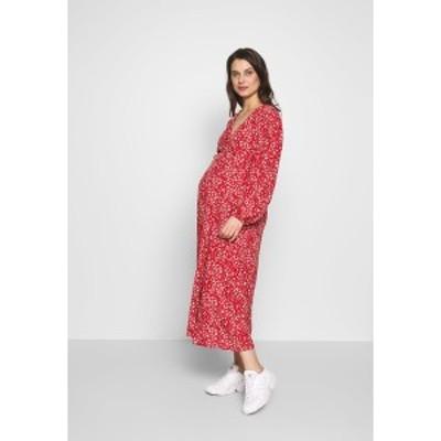 グラマラス ブルーム レディース ワンピース トップス DRESS - Day dress - red red