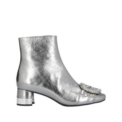 ジェフリーキャンベル JEFFREY CAMPBELL ショートブーツ 鉛色 36 革 ショートブーツ