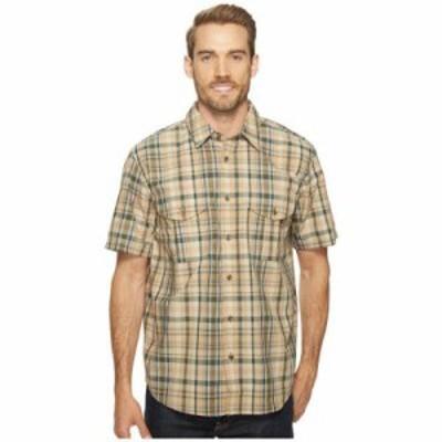 フィルソン 半袖シャツ Short Sleeve Feather Cloth Shirt Khaki/Olive/Blue Plaid