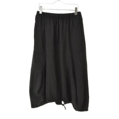 COMME des GARCONS robedechambre / コムデギャルソンローブドシャンブル AD2001 バルーンウールロング スカート