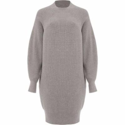 フェイズ エイト Phase Eight レディース ワンピース チュニックドレス ワンピース・ドレス Eliana Knit Tunic Dress Grey