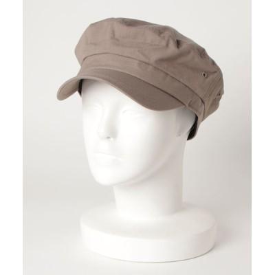 FUNALIVE / 【JABURO】リップストップ マリンキャップ MEN 帽子 > キャップ