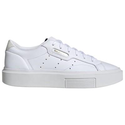 アディダス オリジナルス レディース adidas Originals Sleek Super スニーカー White/Crystal White/Black