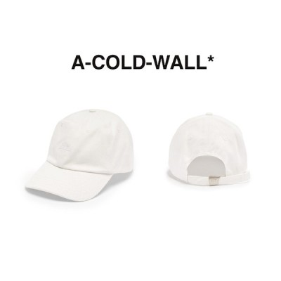 A COLD WALL ア コールド ウォール ACW LOGO CAP CAP キャップ 帽子 【ACWUA005WHL】