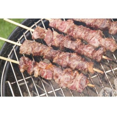 冷凍食品 業務用 牛ジャンボカルビ串 約300g(4-8月)  カルビ 焼肉 牛バラ肉 コロナ 支援 おこもり 応援