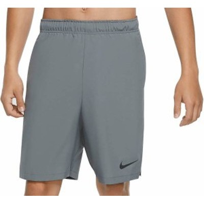ナイキ メンズ ハーフパンツ・ショーツ ボトムス Nike Men's Flex Woven Training Shorts Smoke Grey/Black