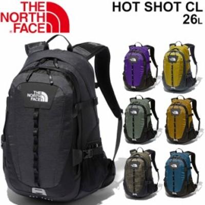 バックパック リュック バッグ ノースフェイス THE NORTH FACE ホットショット クラシック 26リットル/デイパック 多機能 アウトドア タ