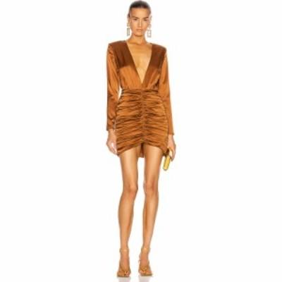 レトロフェット retrofete レディース ワンピース ワンピース・ドレス brea dress Brown