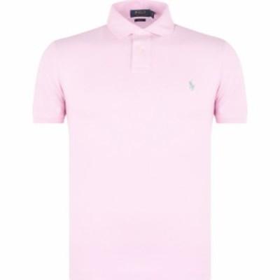 ラルフ ローレン Polo Ralph Lauren メンズ ポロシャツ トップス Slim Fit Stretch Mesh Polo Shirt Pink