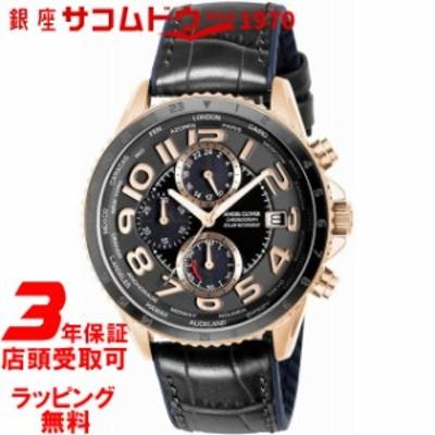 エンジェルクローバー 時計 ANGEL CLOVER メンズ 腕時計 Mondo Solar MOS44PBK-BK