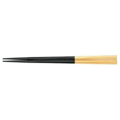 PBT五角箸(10膳入) 黒/金 90030609