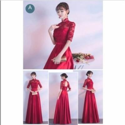 8色入 結婚式 ブライダル Aライン ウェディングドレス 着痩せ プリンセスライン 人気 パーティードレス 花嫁 素敵 大きいサイズ 二次会