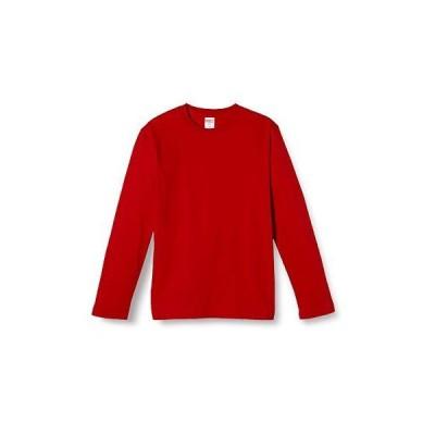 (ユナイテッドアスレ)UnitedAthle 5.6オンス 長袖Tシャツ 501001 [メンズ] 069 レッド S
