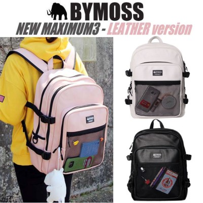 [BYMOSS] バイモス マキシマム 3シリーズ (Maximum Backpack 3Series leather)