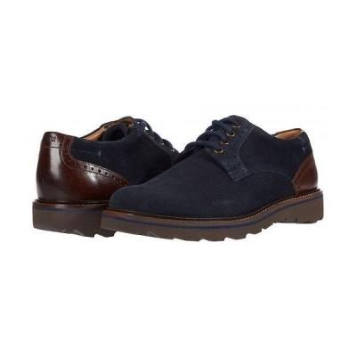 Nunn Bush ナンブッシュ メンズ 男性用 シューズ 靴 オックスフォード 紳士靴 通勤靴 Buchanan Plain Toe Oxford - Navy Multi