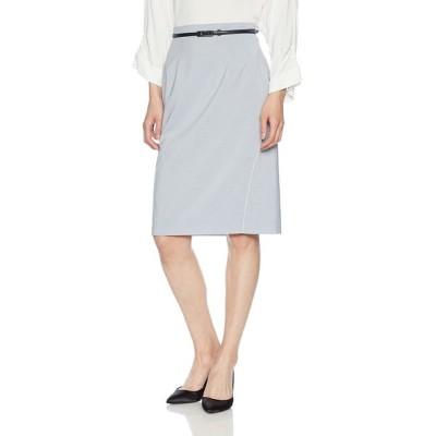 ナラ カミーチェ キュプラポリエステルタイトスカート 30-81-08-211 レディース ブルー 日本 M (日本サイズ9 号相当)