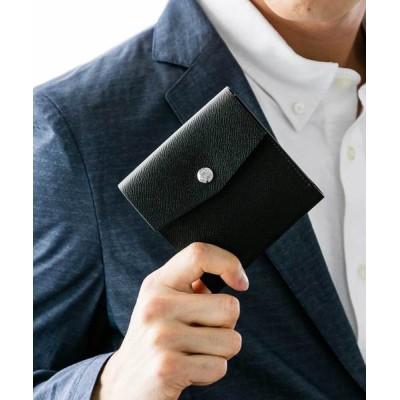 HERRINGBONE CLUB / 二つ折りコインケース付きトラベルウォレット MEN 財布/小物 > 財布
