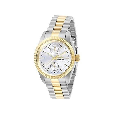 Invicta Women's Specialty Quartz Stainless-Steel Strap, Two Tone, 18 Casual