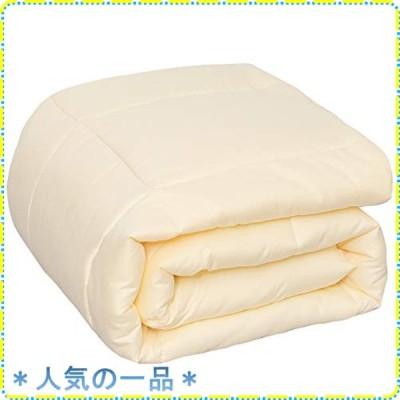 棉素 Mensu 掛け布団 シングル 肌掛け布団 冬 掛けふとん 軽量 ふわふわ 布団 洗える 冬用 2.2kg かけふとん 洗える