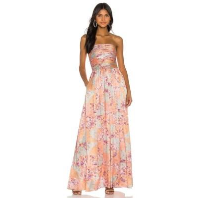 アムール AMUR レディース オールインワン ジャンプスーツ ワンピース・ドレス Kallia Jumpsuit Floral Patchwork