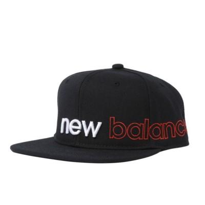 ニューバランス キャップ JACL0637 BK 帽子 : ブラック New Balance