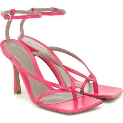 ボッテガ ヴェネタ Bottega Veneta レディース サンダル・ミュール シューズ・靴 Stretch Leather Sandals Lollipop
