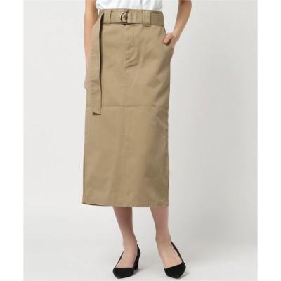 スカート 【別注】Dickies×UncutBound / ディッキーズ×アンカットバウンド ベルト付きタイトスリットスカート