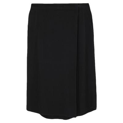 CROSSLEY ひざ丈スカート ブラック XS レーヨン 100% ひざ丈スカート