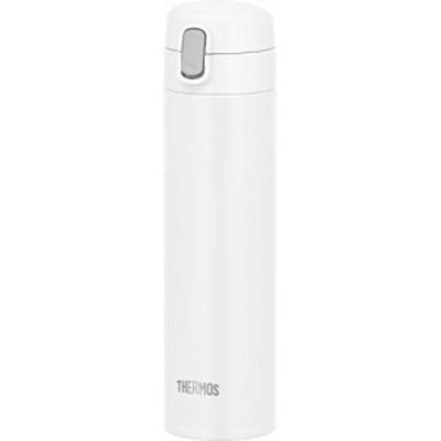 【送料無料】サーモス 水筒 真空断熱ストローボトル 450ml ホワイト 保冷専用 FJM-450 WH