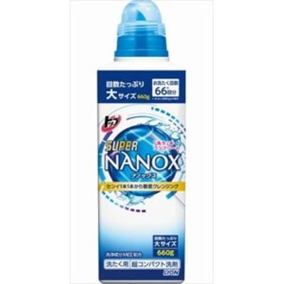 ライオン トップ スーパー ナノックス NANOX 本体 大 660g(660G)