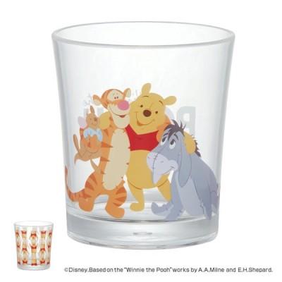 コップ 300ml くまのプーさん ブルームス プラスチック キャラクター ( ロックグラス カップ グラス ディズニー プーさん )