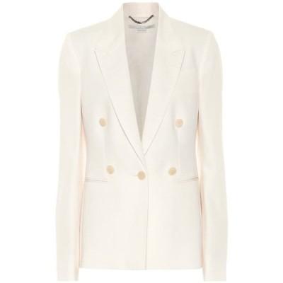 ステラ マッカートニー Stella McCartney レディース スーツ・ジャケット アウター Wool-Crepe Blazer Cream