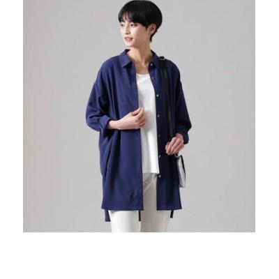 【ウォッシャブル】【接触冷感】スーパーヴィヨンロングシャツ