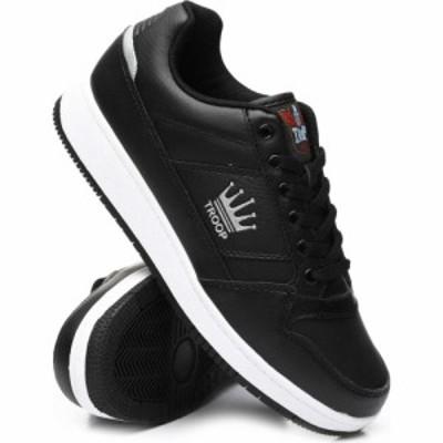 トゥループ TROOP メンズ スニーカー シューズ・靴 Destroyer Low Sneakers Black