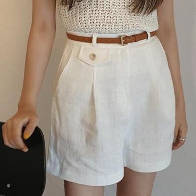 HEYLADY レディース ショートパンツ Jica Linen Short Pants