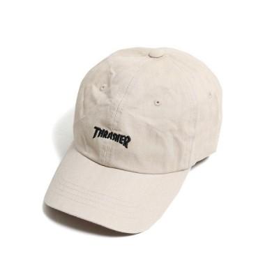 帽子 キャップ THRASHER/スラッシャー ツイル ベースボールキャップ/6パネルキャップ