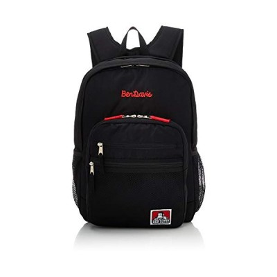 [ベンデイビス] リュック XLサイズ メッシュポケット リュックサック 通勤通学に最適です BDW-9200 ブラックレッド