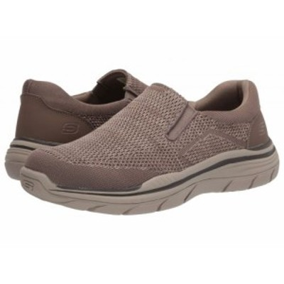 SKECHERS スケッチャーズ メンズ 男性用 シューズ 靴 スニーカー 運動靴 Relaxed Fit Expected 2.0 Arago Taupe【送料無料】